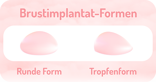 brustimplantat formen wellness kliniek